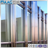 Marco revestido del aluminio de la pared de cortina del polvo de PVDF