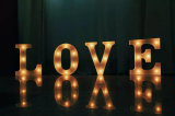 Lettre de marque Letters Home Decorative Light Hanging LED Sign