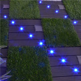 Matériel de construction de haute qualité Imperméable WPC solaire carreaux de sol lumineux