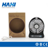 Вентилятор руки USB миниого портативного вентилятора перезаряжаемые охлаждая