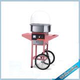 Con ruedas de algodón de azúcar eléctrico máquina FLOSS