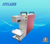 Миниая/портативная/Handheld машина маркировки лазера стекловолокна