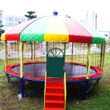 Tremplin rond pour le parc d'attractions (BJ-BU12)