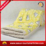 La mousseline Swaddle Vison Laine polaire chaude couverture avec imprimé animal