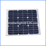 30W высокая эффективность Mono энергосберегающее Solar&#160 способное к возрождению; Модуль