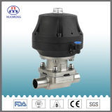 En acier inoxydable de forger de membrane de la vanne pneumatique avec 3A