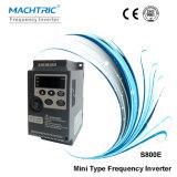 Certificado CE de tipo Mini 220V/380V AC Drive Motor Convertidor de frecuencia