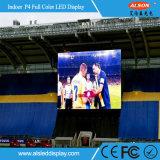 Visualizzazione di LED esterna di colore completo P16 di perimetro esterno dello stadio