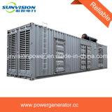 825kVA 대기 600kw 주요한 힘 콘테이너 발전기