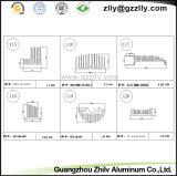 De Profielen Heatsink van het Aluminium van het Bouwmateriaal