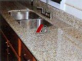 Comptoirs en granite naturels et dessus de cuisine et dessus de toilette