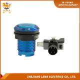 IP40 보호 수준 파란 LED 플라스틱 33mm 누름단추식 전쟁 스위치 Pbs-003