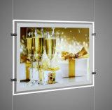 Caixa de luz LED de Publicidade de acrílico com superfície magnética