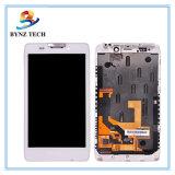 Moto Xt925 Xt926の表示画面アセンブリのための携帯電話LCD