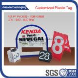 플레스틱 포장 PVC 상자를 인쇄하는 상표
