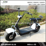 Fábrica Citycoco Freno de disco hidráulico trasero delantero de la batería desprendible Promoción Producto E-Scooter City Coco 2 ruedas