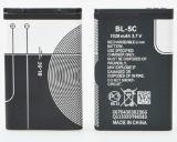 Bl-5c capacidad plena de 1020 mAh 3.7V Altavoces de litio batería de la tarjeta de navegación pequeñas células de teléfono de radio estéreo