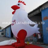 Produit à base de poulet gonflable géant de dessin animé