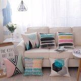 Caisse de palier de sofa estampée par toile décorative à la maison de coton sans bourrer (35C0015)