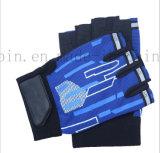 Мотоцикл изготовленный на заказ половинной тренировки пригодности перчатки перста задействуя резвится перчатка