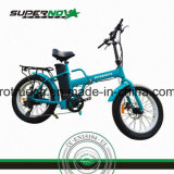 Bicyclette électrique de gros pneu avec le moteur arrière