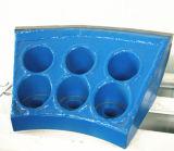 Fraise à gratter latérale de haute qualité / Boutons pré-découpage / carbure pour les pièces de machine Tbm