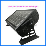 LED DMX 512 DJ Party Light 10W 24pcs bañador de pared