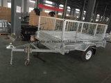 De Aanhangwagens van China Yq - 7 de Aanhangwagen van de Doos van ' X 4 ' in Gegalvaniseerd