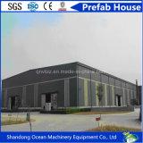 Здание стальной структуры огромной пяди низкой стоимости полуфабрикат для мастерской Carparking пакгауза охраны окружающей среды