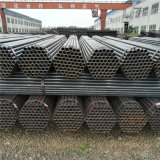 Tubos llanos estándar del carbón del negro del final del grado B de ASTM A53 A500