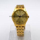 5 ATM водонепроницаемый мужчин Wristwatch из нержавеющей стали браслет (Gold)