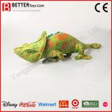 Het gevulde Zachte Stuk speelgoed van het Kameleon van de Pluche van Dieren voor de Jongens van de Jonge geitjes van de Baby