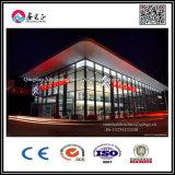 Exposición ligera pasillo de estructura de acero