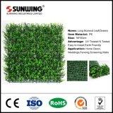 Folha Verde artificial de alta qualidade a régua buxo sebes