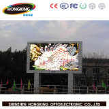 Perimetro esterno P10 che fa pubblicità alla visualizzazione di LED di sport