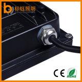 細い30W AC85-265VはIP67 CRI>85 PF>0.9の極めて薄い庭の屋外の照明穂軸LEDのフラッドライトを防水する
