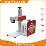 Machine de gravure portative à fibre optique mobile pour cuivre / aluminium / Tiatanium / ABS