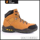 Chaussure de sûreté en cuir de Nubuck avec EVA&Rubber Outsole (SN5444)
