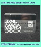 Vier Karte des Farben-Tintenstrahl-Drucken-Cr80 mit magnetischem Streifen für Geschäft