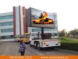 Instalação fixa ao ar livre Aluguer de publicidade por caminhão Exibição LED / Painel / parede / tela de tela de vídeo / tela de vídeo