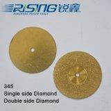 345 티타늄을%s 가진 치과 다이아몬드 디스크