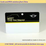 O cartão de identificação PVC com Orifício perfurado para acesso de exposições
