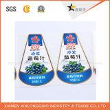 Het Etiket die van het Overdrukplaatje van het Document pvc van de douane Zelfklevende Afgedrukte Sticker afdrukken