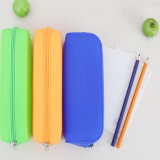 Prix ​​de fabrication Coloré Custom Silicone Pencil Case for Students
