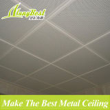Plateau de plafond acoustique en aluminium revêtu de film