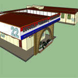 Structure d'Acier Préfabriqués Maison modulaire