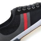2017new Diseño de lona de Men Casual zapatos vulcanizados