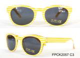 De kinderen vormen de Plastic Zonnebril van de Jonge geitjes van het Frame voor het Beste Verkopen