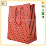 2017 sacs de empaquetage de papier estampés par coutume