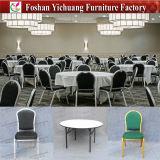 現代スタック可能アルミニウムレストラン椅子および表